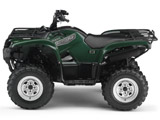 2007 Yamaha Grizzly 700 Utility ATV -  Green