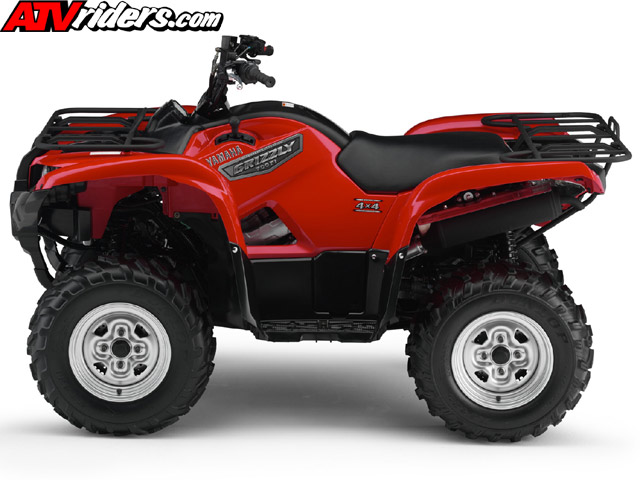 What Years Were The Yamaha Grizxle Red