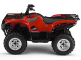 2007 Yamaha Grizzly 700 Utility ATV -  Red