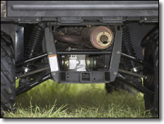 2007 Yamaha Rhino 660 Side X Side /UTV ground clearance