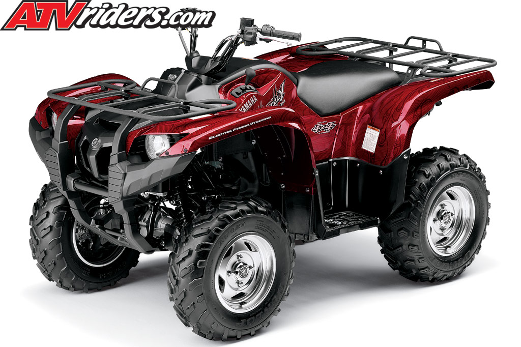 2009 Yamaha Grizzly 550 4x4 FI EPS Utility ATV Test Ride / Review