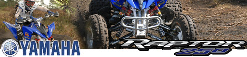 2008 Yamaha Raptor 250 ATV Press Intro