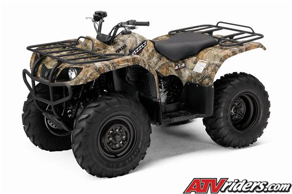 2008 Yamaha Grizzly 350 Auto. 4x4 Utility ATV - Features, Benefits ...