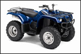 Blue 2008 Grizzly 350 Automatic Utility ATV