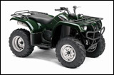 Green 2008 Grizzly 350 Automatic Utility ATV