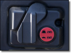 Yamaha Rhino push button 2WD/4WD UTV