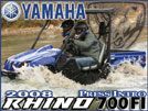 2008 Yamaha Rhino 700 EFI UTV / SideXSide Vehicle Review
