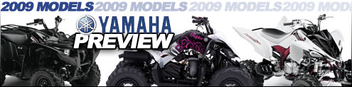 Yamaha 2009 ATV UTV Model Preview