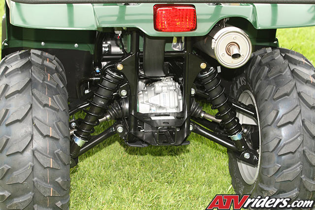 2009 Yamaha Grizzly 450 4x4 Utility ATV Preview