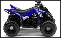 All new 2009 yamaha raptor 90 youth atv model preview for Yamaha 90cc atv