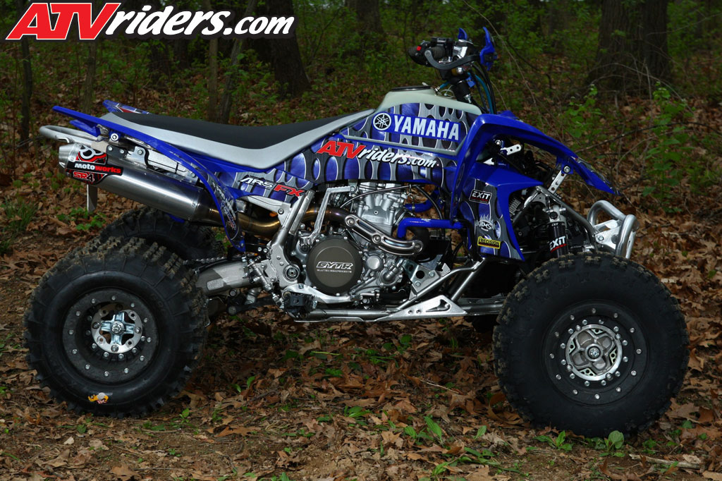 Jarrod mcclure s 2009 yamaha yfz450 gncc pro atv build review for What year is my yamaha atv