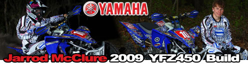 2009 Yamaha YFZ450R ATV Motocross Ride Review