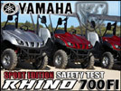 Yamaha Rallies Behind The Rhino 700 FI Sport Edition SxS