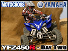 2009 Yamaha YFZ450R ATV Motocross Ride Review - Day Two
