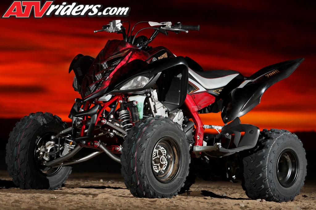 2009 Yamaha YFZ450R SE & Raptor 700R SE ATV Unveiled