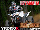 2010 Yamaha YFZ450X ATV Cross Country Test Ride Review