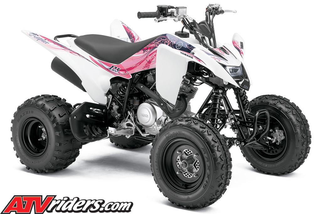 new 2011 yamaha raptor 125 youth sport atv announced