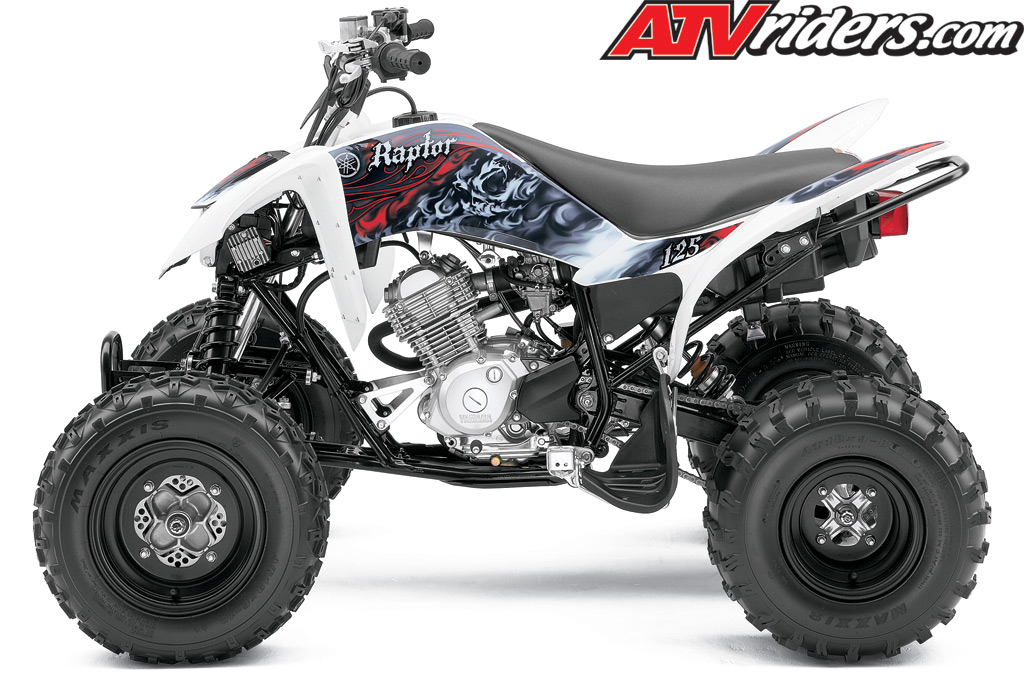 new 2011 yamaha raptor 125 youth sport atv announced. Black Bedroom Furniture Sets. Home Design Ideas
