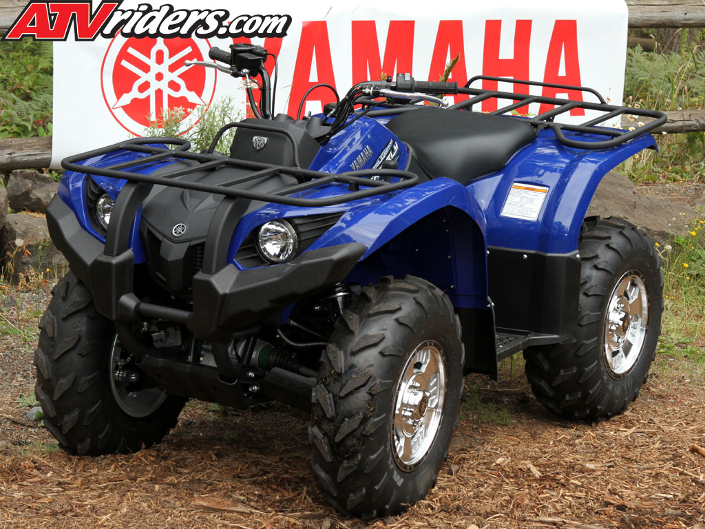 2011 yamaha grizzly 450 eps 4x4 utility atv test ride review for Yamaha grizzly atv
