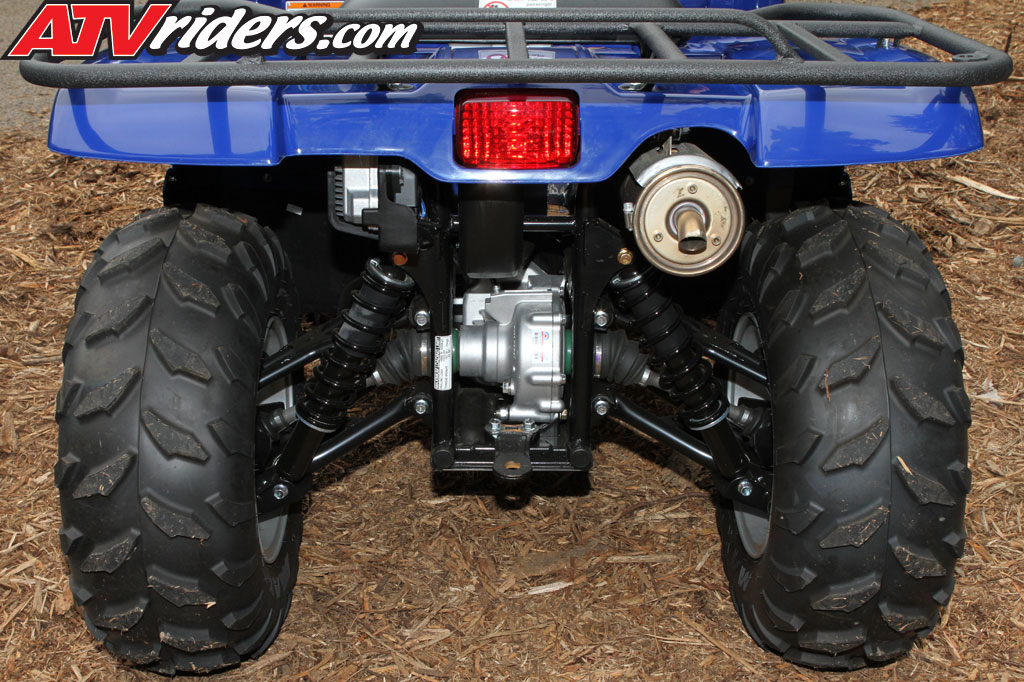 2011 Yamaha Grizzly 450 EPS 4x4 Utility ATV Test Ride / Review
