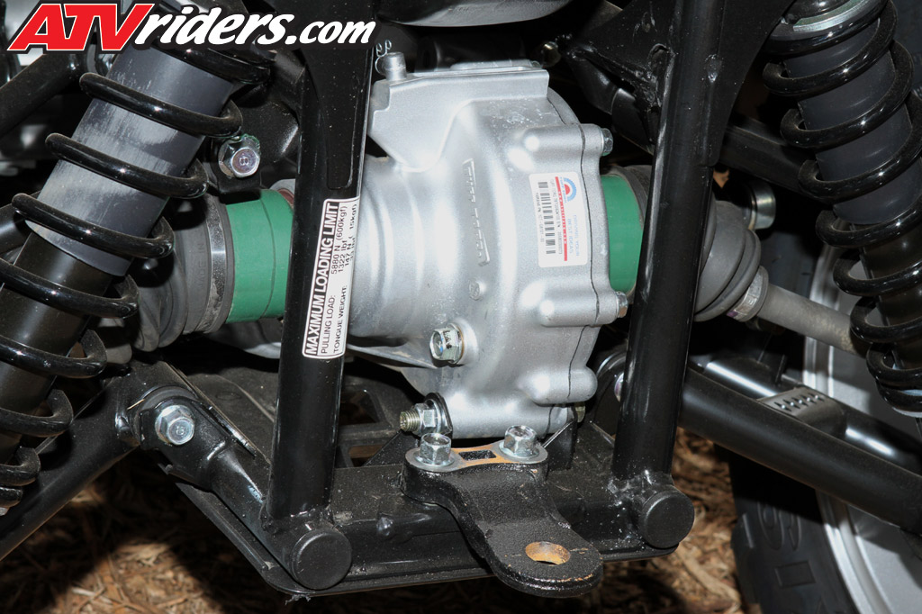 Grizzly Brake Lining : Yamaha grizzly eps utility atv test ride review