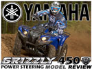 2011 Yamaha Grizzly 450 4x4 EPS Utility ATV Test Ride / Review