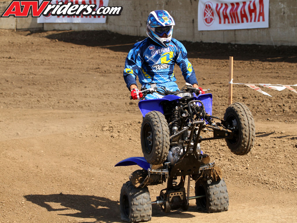 Yamaha Raptor  Wheelie Bar