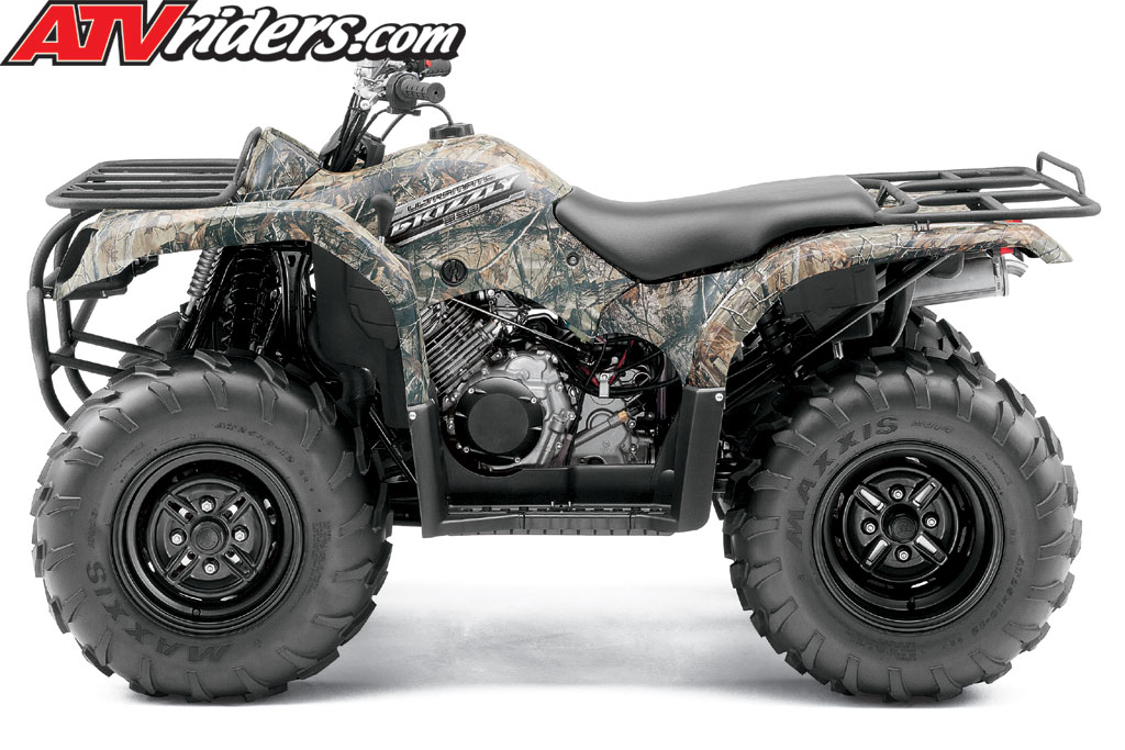2013 Yamaha Grizzly 350 Auto 4x4 Utility Atv Specifications