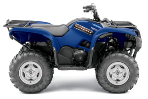 Yamaha Grizzly  Wheel Drive Function