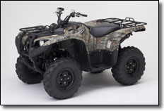 2012 Yamaha Grizzly Utility ATV in Realtree AP Camouflage