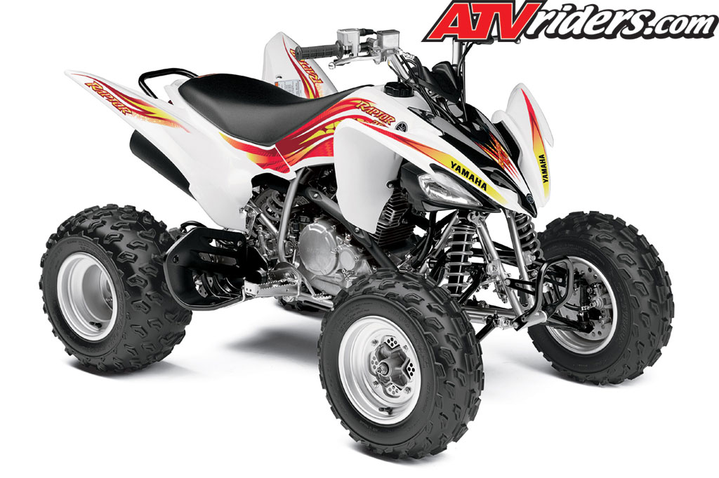 Yamaha kids four wheelers kids matttroy for Yamaha raptor 50cc