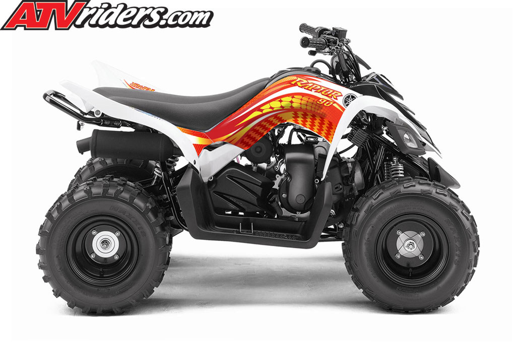 yamaha announces 2012 yfz450r and raptor 90 sport atvs industry first custom graphics kit. Black Bedroom Furniture Sets. Home Design Ideas