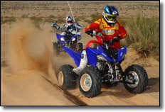 2012 Yamaha Raptor 250 ATV Dustin Nelson Josh Row