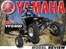 2012 Yamaha YFZ450 Sport ATV Test Ride / Review