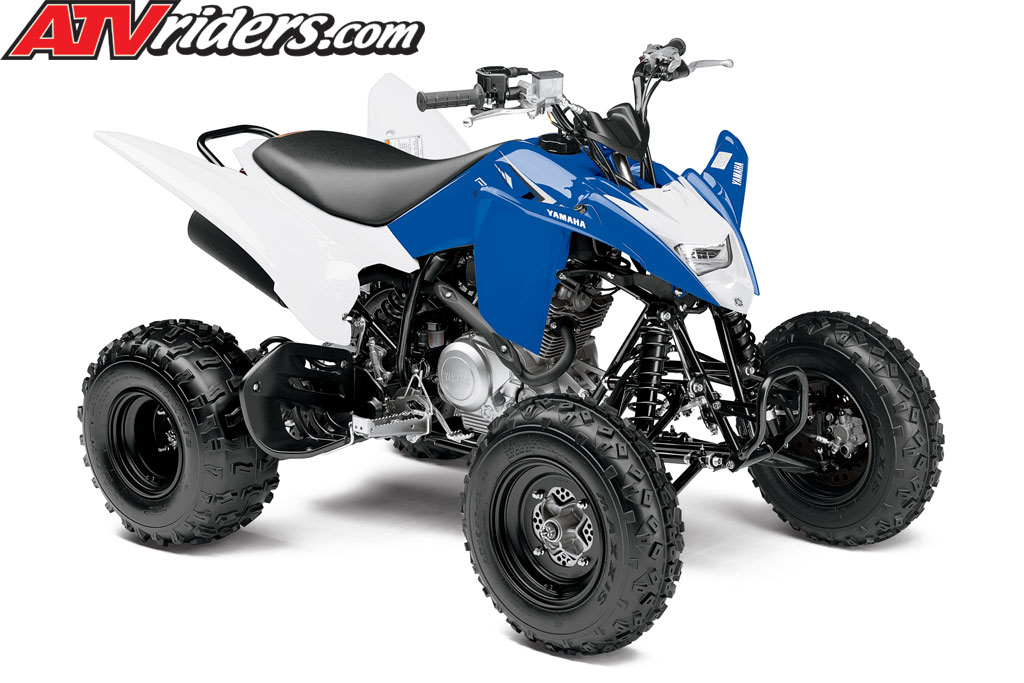 2013 yamaha raptor 90 youth atv yamaha blue white male. Black Bedroom Furniture Sets. Home Design Ideas