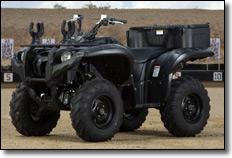 2013 Yamaha Grizzly 700 4x4 EPS Utility ATV Tactical Black
