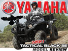 2013 Yamaha Grizzly 700 & Rhino SxS Tactical Black Review
