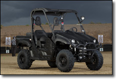 2013 Yamaha Rhino 700 4x4 EPS SxS Tactical Black