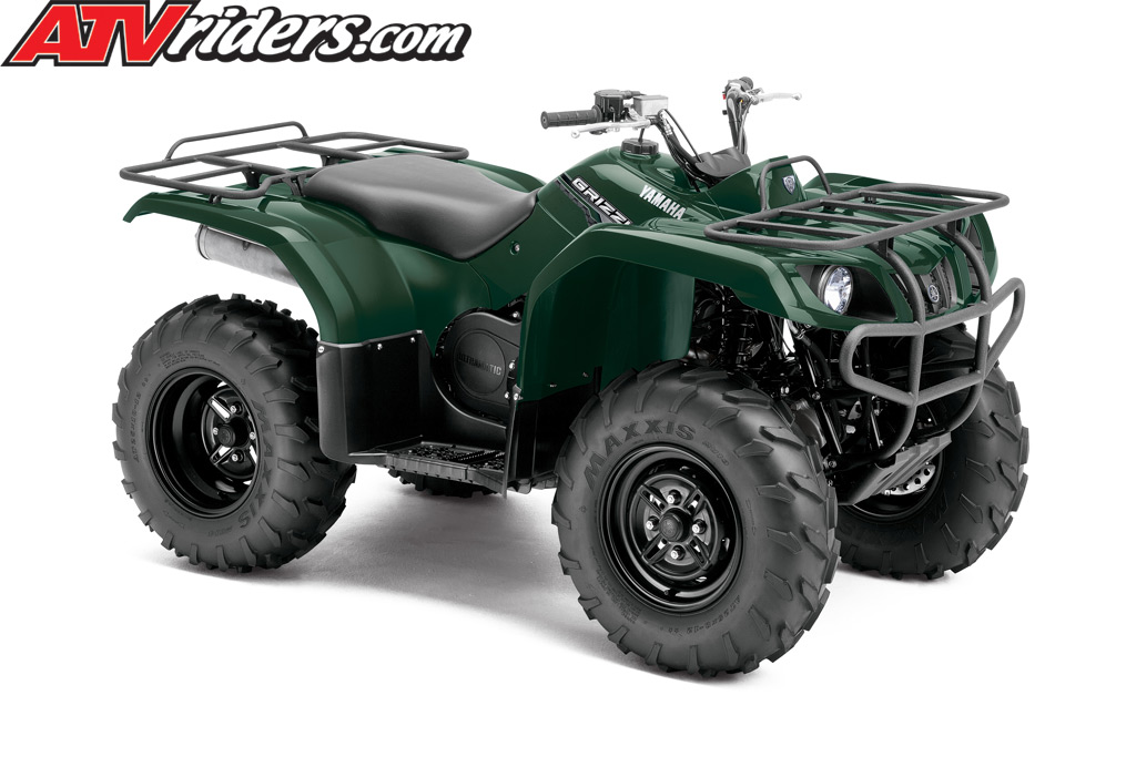 New 2014 yamaha grizzly 350 4x4 no fees fi auto blue or for 2014 yamaha atv