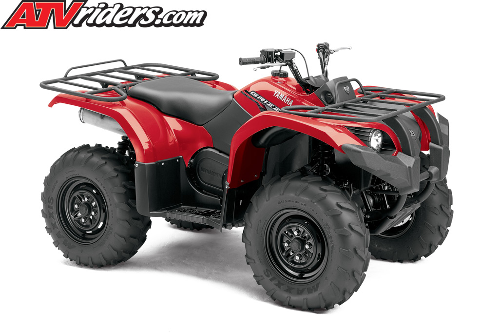 2014 Yamaha Grizzly 450 EPS 4x4 Utility ATV - Red