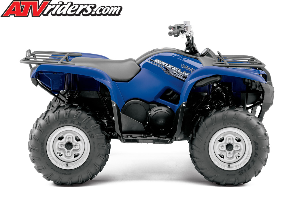 2014 yamaha grizzly 700 fi auto 4x4 utility atv for 2014 yamaha atv