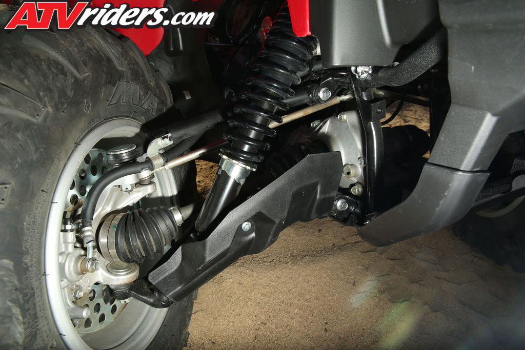 2014 Yamaha Grizzly 700 Ride Reviews - Black Cat Picture