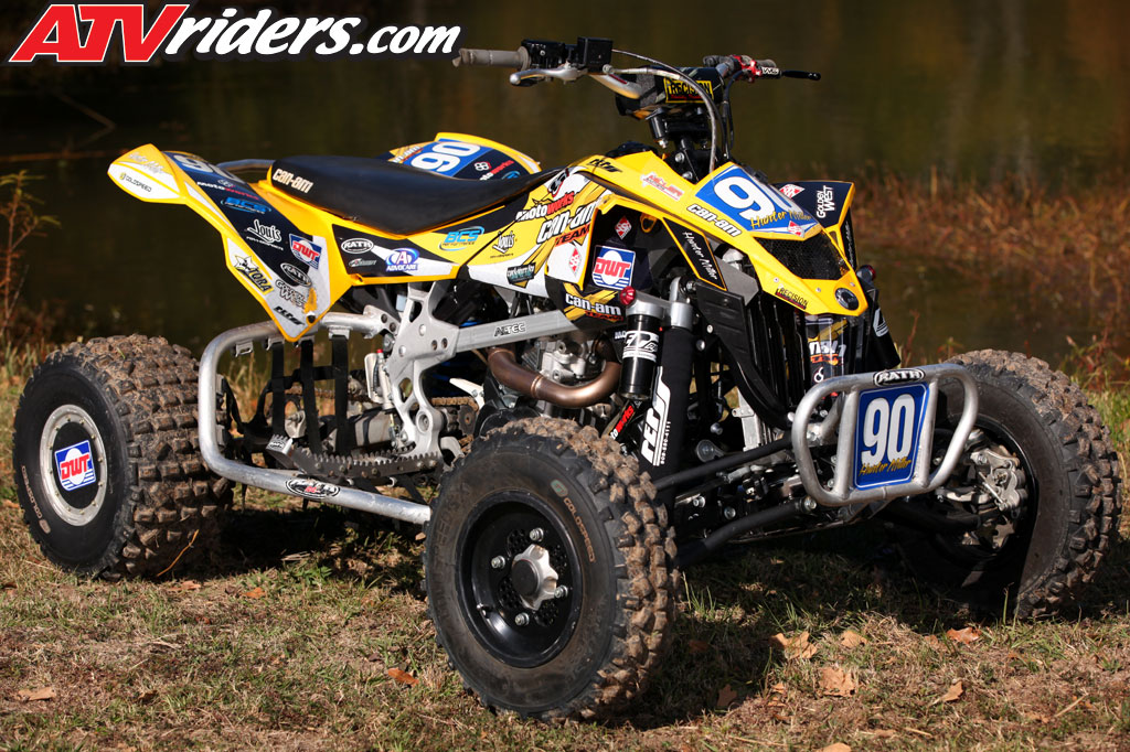 hunter miller interview 2010 tqra amp torn pro atv racing