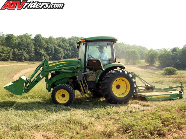 John Deere Quad Track Tractor http://www.atvriders.com/interviews/jeremiah-jones-2008-interview.html
