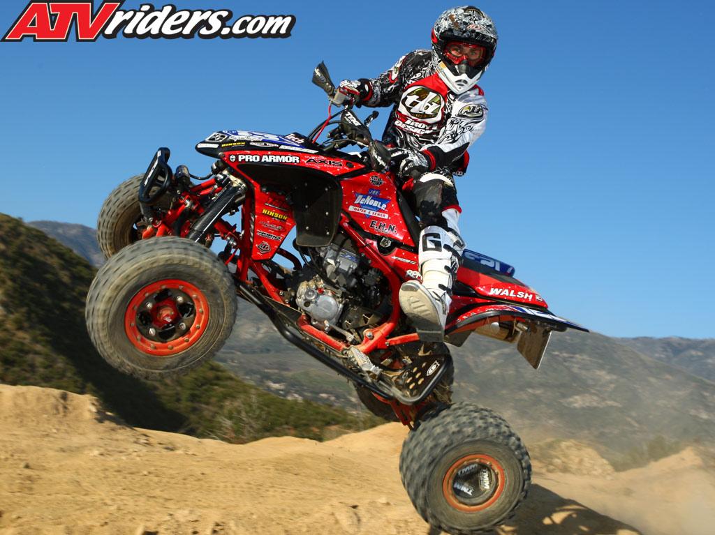 Nick DeNoble: 2009 AMA Pro ATV Motocross Rookie - Honda TRX 450R ATV
