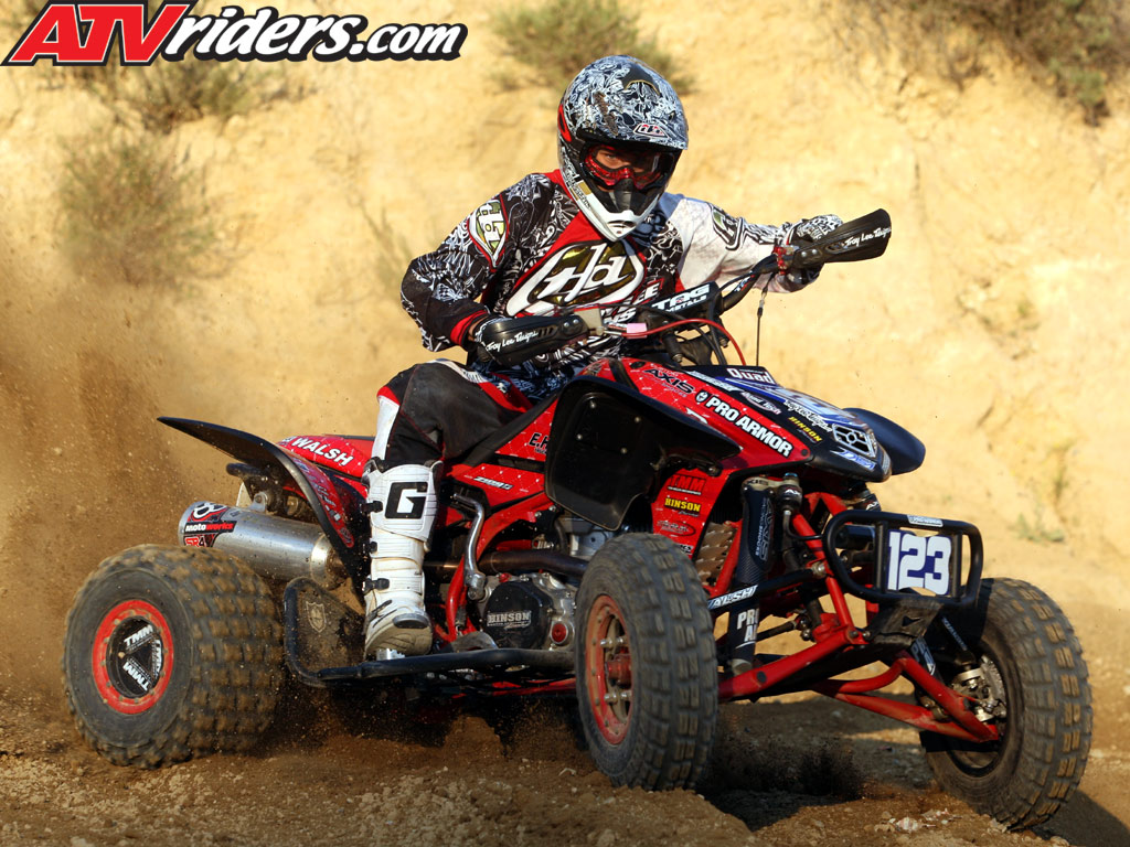 nick denoble 2009 ama pro atv motocross rookie honda. Black Bedroom Furniture Sets. Home Design Ideas