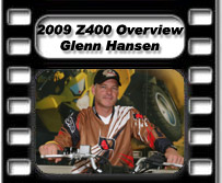 Glenn Hansen 2009 Suzuki Z400 QuadSport ATV Test Ride / Review Overview